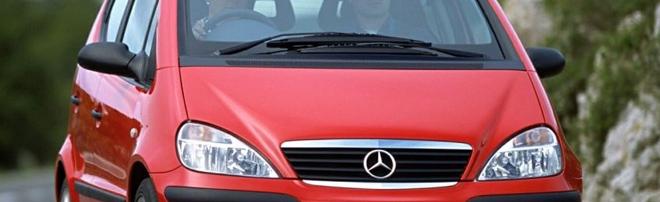 Naprawa przepływomierza w samochodzie marki Mercedes A klasa